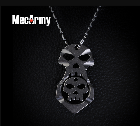 MecArmy SKF2X Titanium Attack Necklace