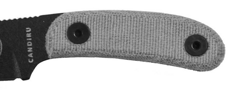 Optional Canvas Micarta Handles for Esse Candiru