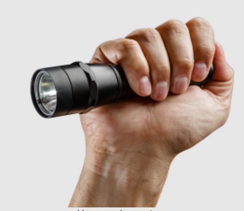 Surefire P2X Fury W/ IntelliBeam Technology 600 Lumen 2 x CR123A High Performance LED Flashlight