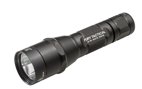 Surefire P2X Fury Tactical Single Output 600 Lumen 2 x CR123 LED Flashlight
