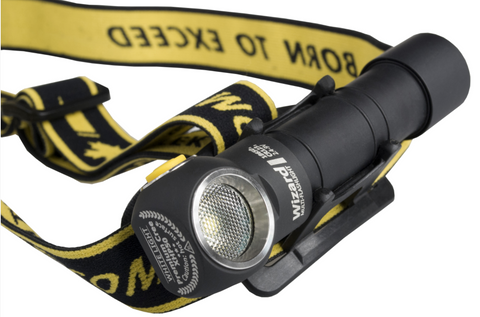 Armytek Wizard With Magnetic USB Charger 1120 Lumen 1 x 18650 Cree XP-L Warm LED Headlamp