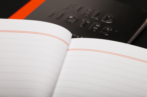 Field Notes Winter 2016 Quarterly Edition Black Ice 48-Page Memo Book