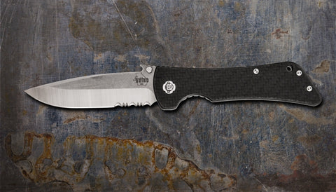 Southern Grind Bad Monkey Drop Point Serrated