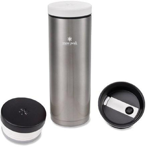 Snow Peak Kanpai 500 Series Vacuum Sealed Stainless Steel Bottle