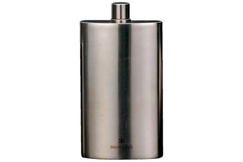 Snow Peak Titanium 6 fl oz. Flask - Large