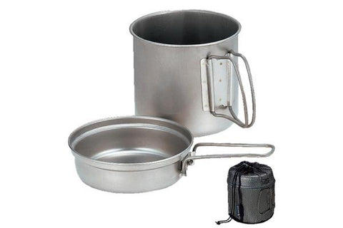 Snow Peak Titanium Trek 1400 Cook Set