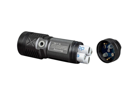JETBeam SRA40 Aluminum LED Flashlight, 1100 Lumens