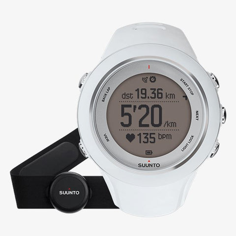 Suunto Ambit3 Sport (HR) GPS Enabled Watch-White