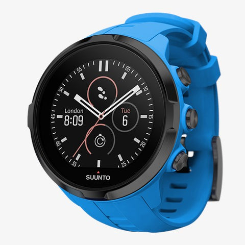 Suunto Spartan Sport Watch with Wrist Heart Rate Monitor-Blue
