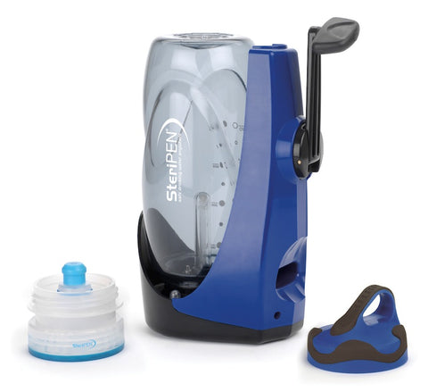 SteriPEN Sidewinder Water Filter- No Batteries Needed