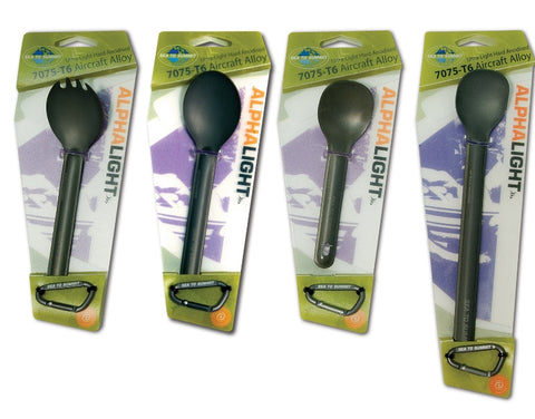 Sea to Summit Alpha Light Aluminum Spork/Knife Set