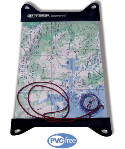 Sea to Summit TPU Guide Map Case L
