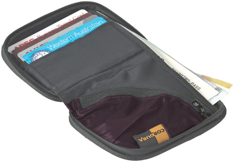 Sea To Summit Travel Wallet - Small Aubergine