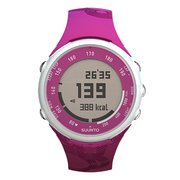 Suunto T1C True Fuschia Heart Rate Monitor Watch