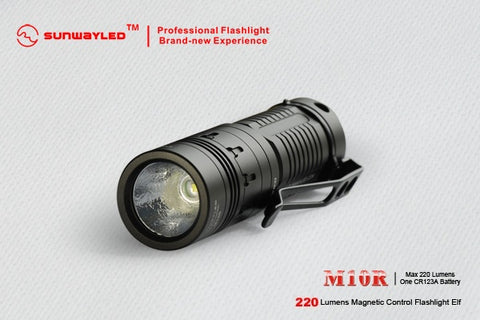 Sunwayman M10R XP-G R5 LED Flashlight 1 x CR123