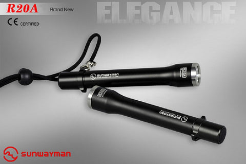 Sunwayman R20A CREE XP-G R5 LED 180 Lumen Flashlight