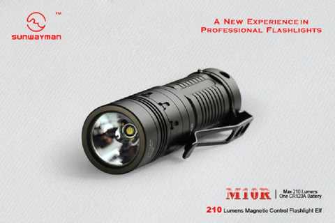 Sunwayman M10R XM-L T6 160 Lumens 1 x CR123 LED Flashlight