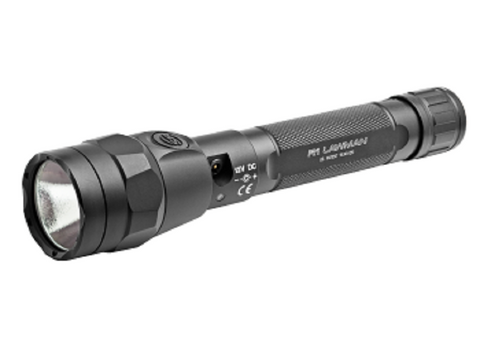 Surefire R1-B-BK Lawman 1000 Lumen Rechargeable Variable Output LED Tactical Flashlight