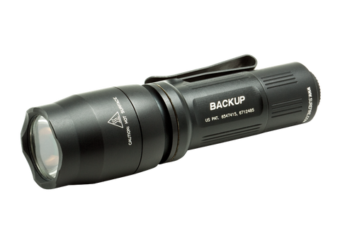 Surefire E1B Backup 110 Lumen LED Flashlight - Black
