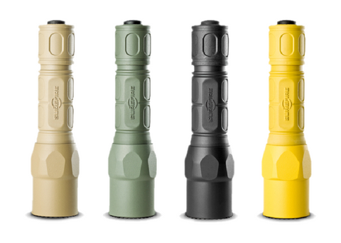 Surefire G2X Pro Two Mode LED Flashlight - Yellow