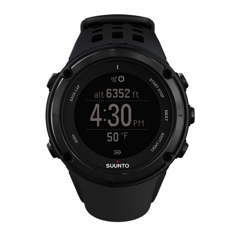 Suunto Ambit2 Black GPS Triple Sensor Watch