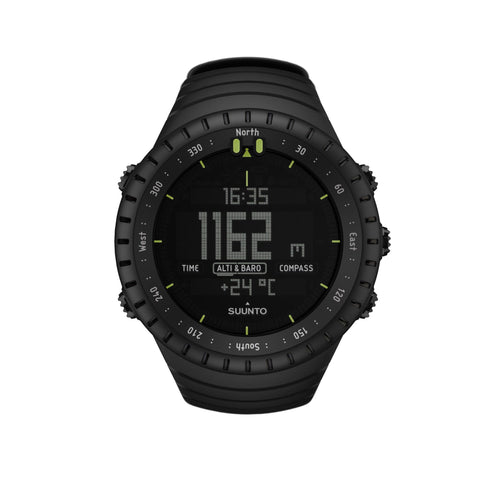 Suunto Core All Black Triple Sensor Watch