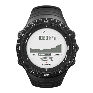 Suunto Core Regular Black Triple Sensor Watch