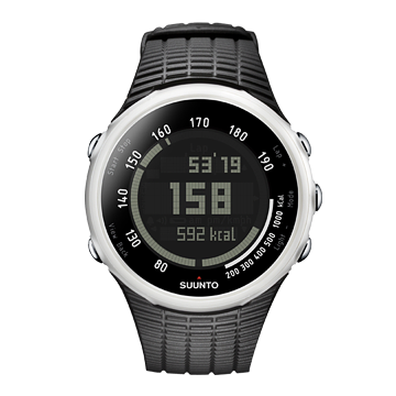 Suunto T1C Black Pattern Heart Rate Monitor Watch