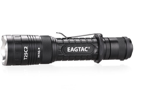 Eagletac T25C2 1 x 18650 / 2 x (R)CR123A CREE XP-L HI 1080 Lumen LED Flashlight