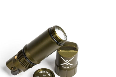 Exotac titanLight Refillable Water and Evaporation Proof Lighter