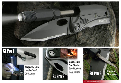 Tool Logic SLP2 Knife with LED and Firesteel