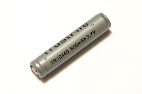 Trustfire 600 mAh 10440 Protected Lithium Rechargeable Battery