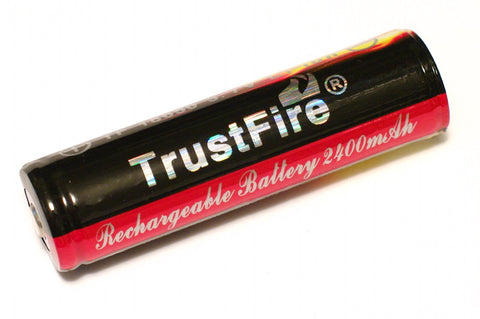 Trustfire JT-V1 2400 mAh 18650 Protected Lithium Battery