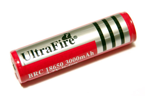 Ultrafire 3000 mAh 18650 BRC Lithium Rechargeable Battery