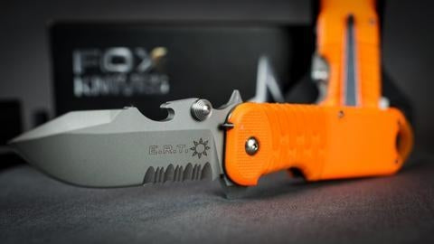 Fox Knives E.R.T. Rescue Knife, FX-213
