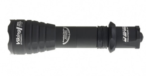 Armytek Viking Pro v3 1x 18650 / 2x CR123A 1250 Lumens CREE XP-L LED Flashlight