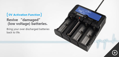 XTAR VP4 Plus Dragon 4-Bay Battery Charger
