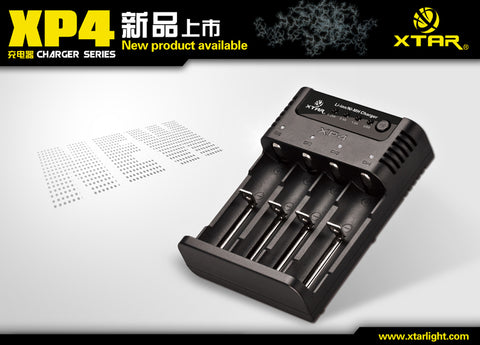 XTAR XP4 Panzer NiMH/Lithium Ion Intelligent Charger