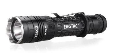 EagTac T25C2 1180 Lumen Flashlight 1x18650 Battery XP-L V5 LED