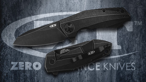 Zero Tolerance 0456BW CPM-20CV Folding Knife (3.25 Inch Blade) - Designed by Dmitry Sinkevich
