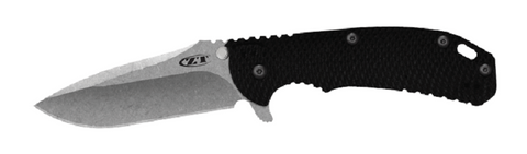 Zero Tolerance 0560 Hinderer Design Folding Knife - Black Scale