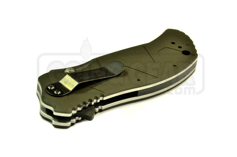 Zero Tolerance 0350GRN SpeedSafe Green Aluminum Scales Limited Edition Assisted Folding Knife
