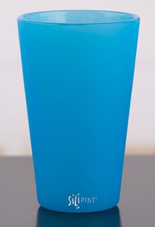 Sili PINT 16oz Original Pint Glass Bend Blue