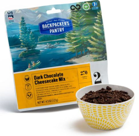 Backpacker's Pantry Dark Chocolate Cheesecake Mix