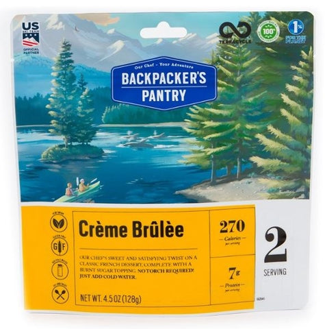 Backpacker's Pantry Creme Brulee - 2 Servings