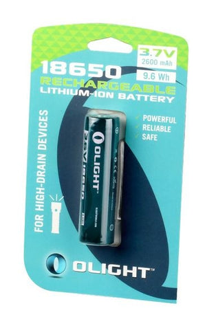 Olight Protected 18650 2600mAh Battery