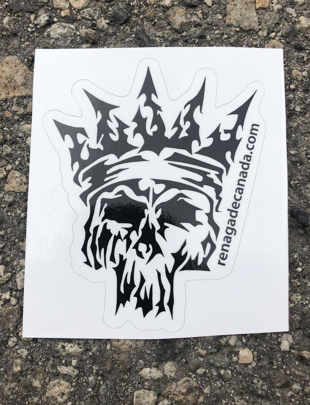 Skull Slapper Sticker