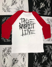 True Patriot Canadian 3/4 Sleeve Baseball Tee