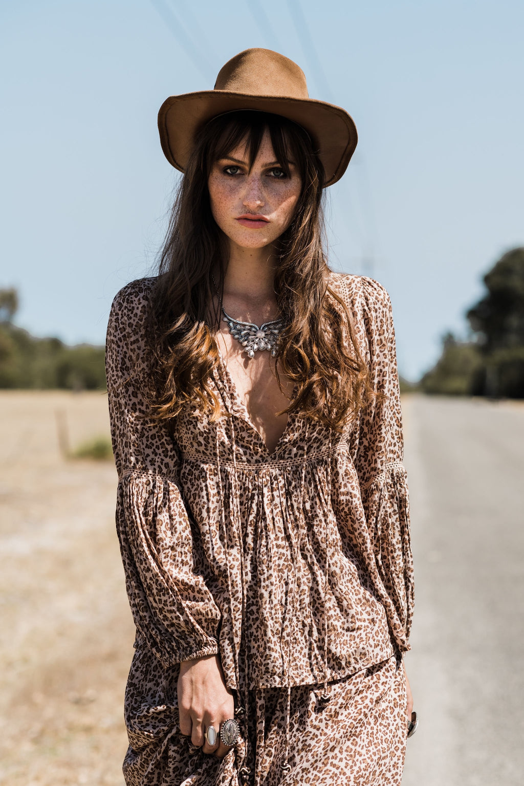 Into The Wild Blouse