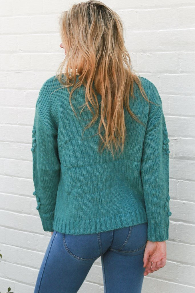 Emilia Bobble Knit Jumper